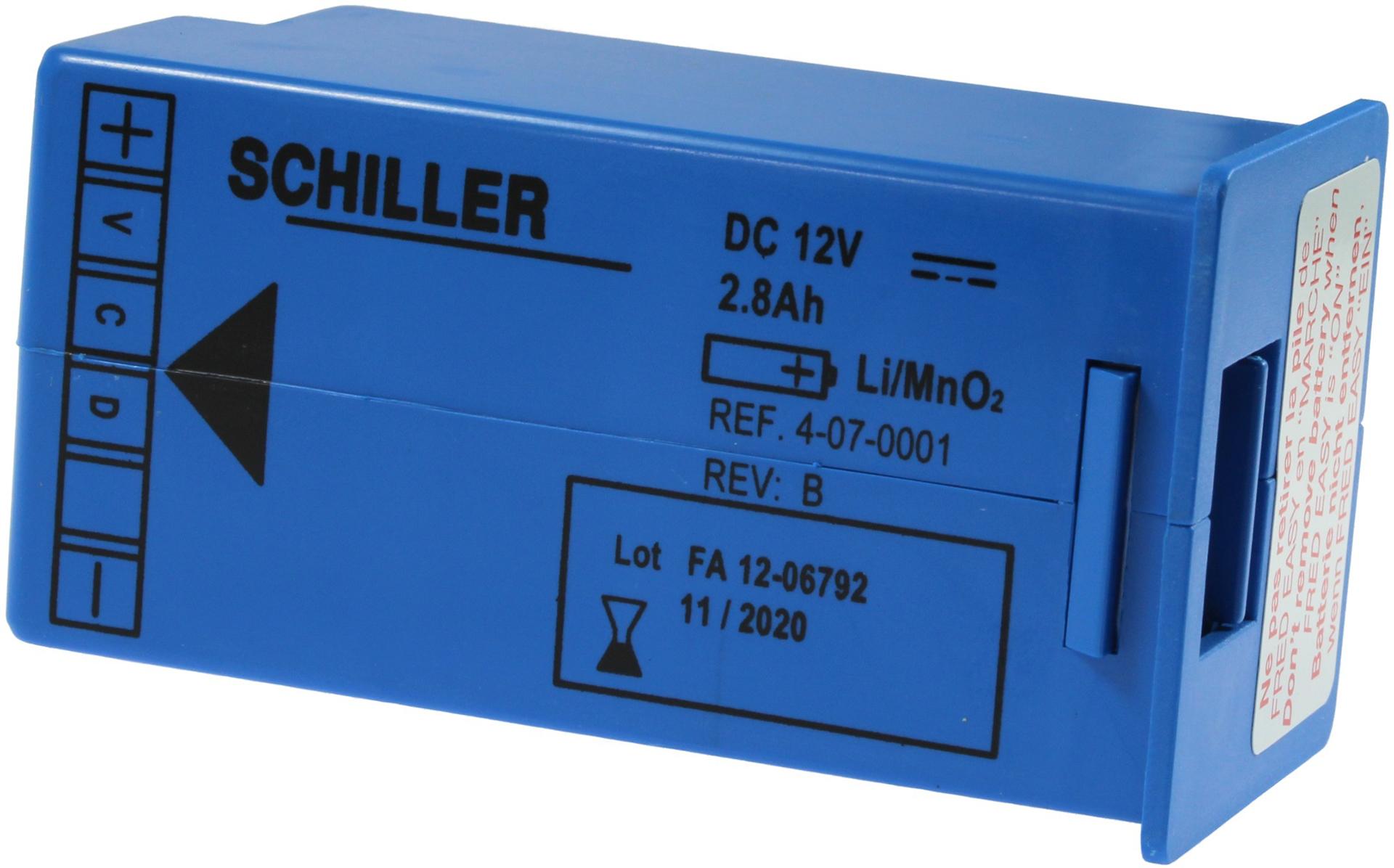 Batterie - Defibrillator FRED easyport